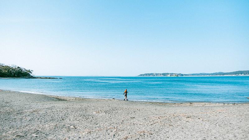 沖ノ島海水浴場写真