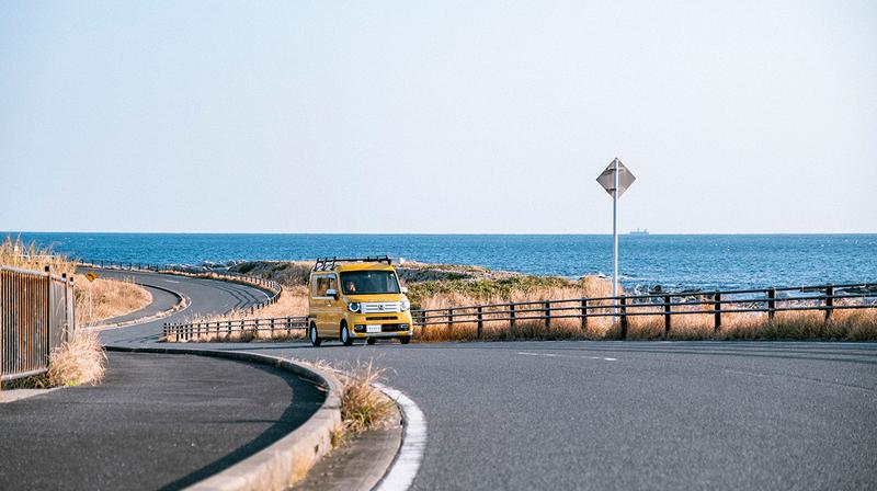 房総半島海岸沿いドライブ写真