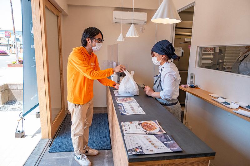 行徳昇龍浦安店で緑巻を買う写真