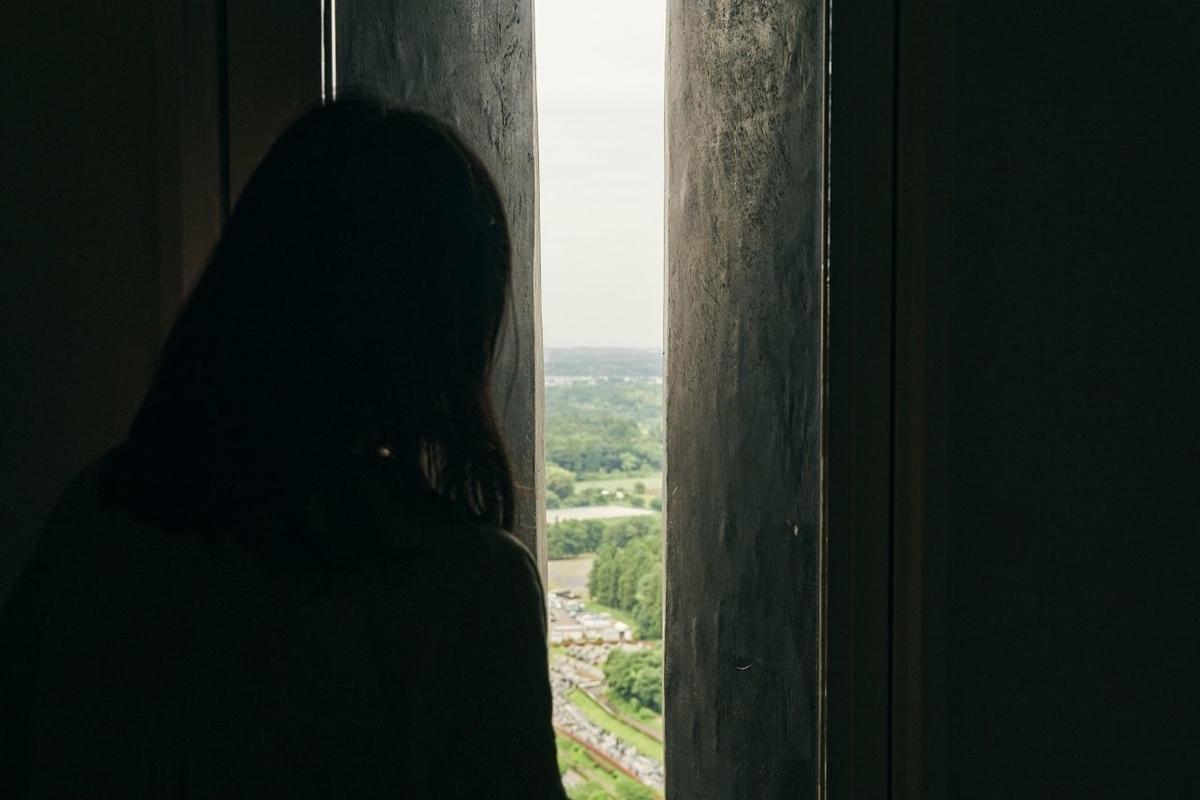 大仏の中から眺める景色