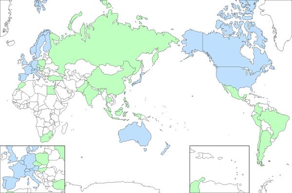 iShares MSCI KOKUSAI map