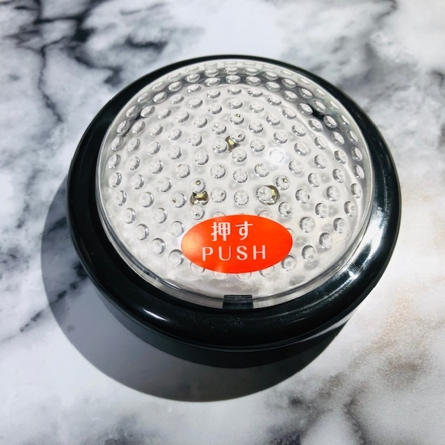 【キャンドゥ】ちょっと明かりが欲しいときに手軽に照らせる「3LEDタッチライト」を使ってみた