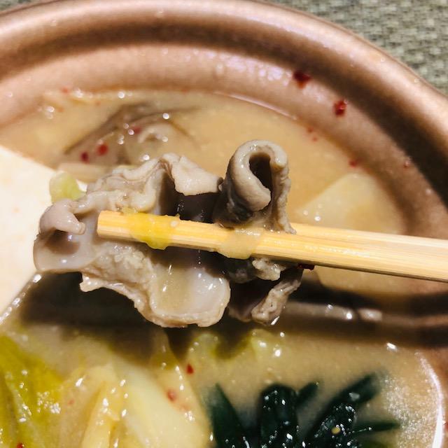 【セブンイレブン】カロリーたったの276カロリーで野菜たっぷりな博多モツ鍋(みそ味)を食べてみた
