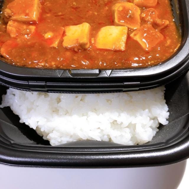 麻婆豆腐と白いご飯との相性はカレー並