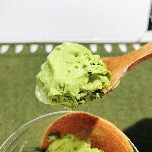 抹茶の和パフェ(抹茶ゼリー仕立て)抹茶クリーム
