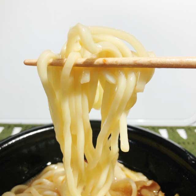 コシのある麺