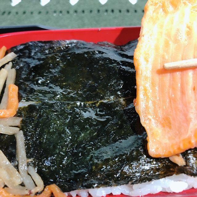 海苔のテカリ具合が、脂のがのっている証拠