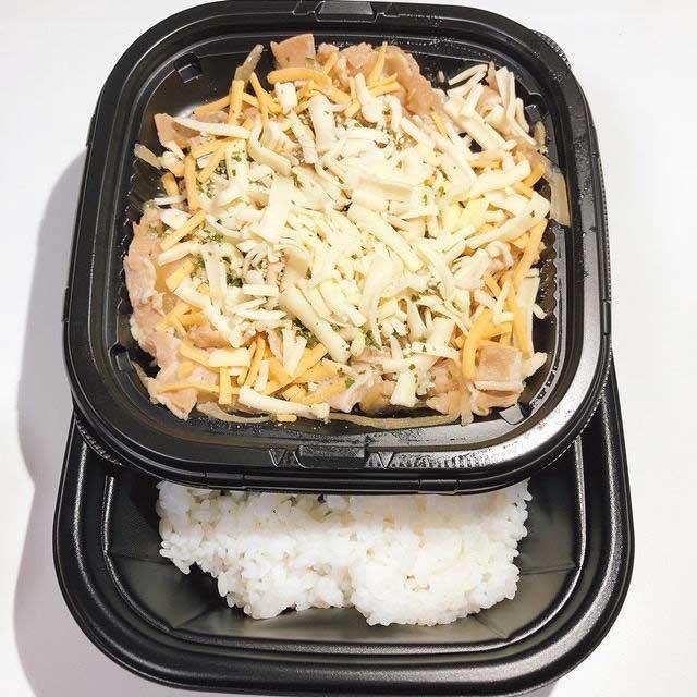 ご飯と具材はセパレートタイプ
