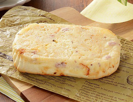 ポテトとチーズハムパン