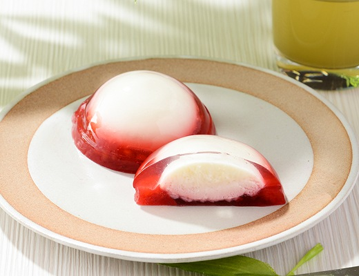 プルレア -ぷるもちレアチーズ苺-