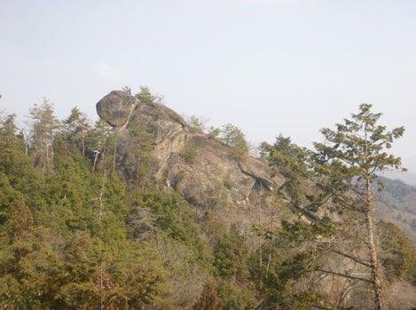 亀ヶ岳展望台