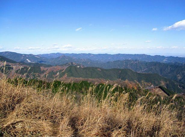 棒ノ嶺山頂からの展望