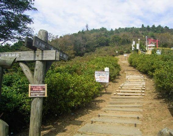 おたつ石コース登山口