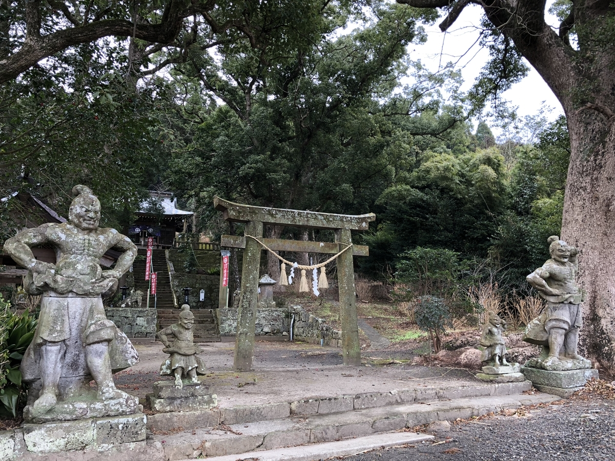 鹿児島御朱印神社最古のお稲荷さん稲荷神社東市来町