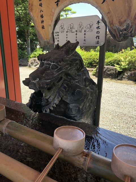 鹿児島御朱印神社箱崎八幡神社出水市ツル鶴