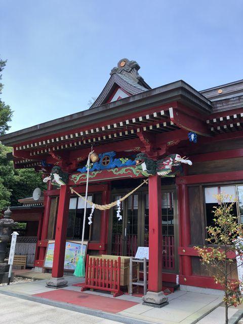 鹿児島御朱印神社ツル加紫久利神社出水市