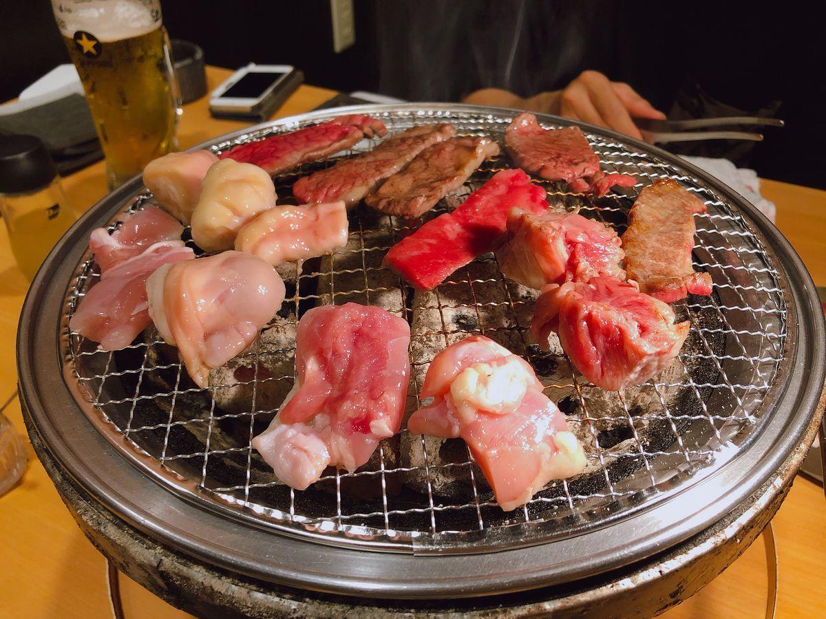 鹿児島グルメブログ焼肉食べ放題寅どら焼肉番長荒田