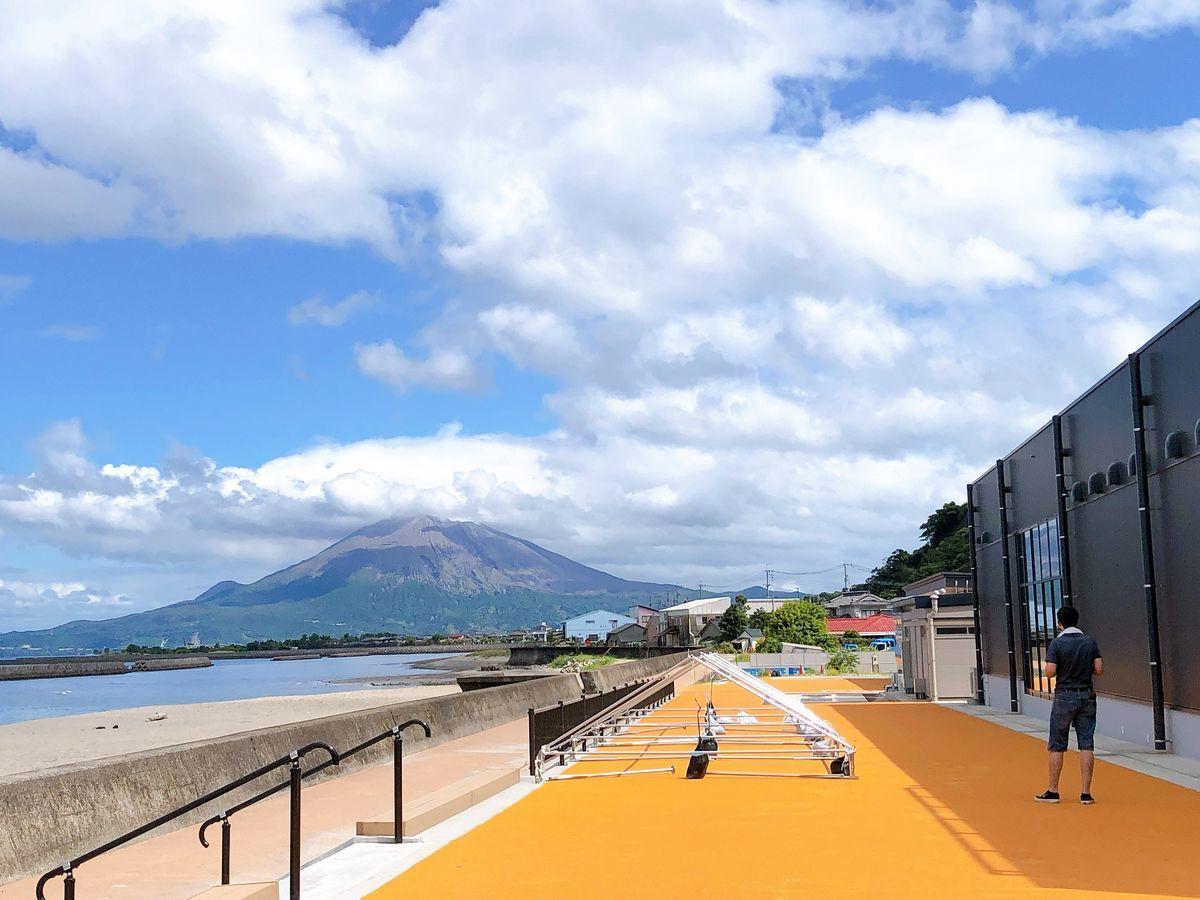 鹿児島道の駅ブログ道の駅たるみずはまびらたるたるぱあく垂水市