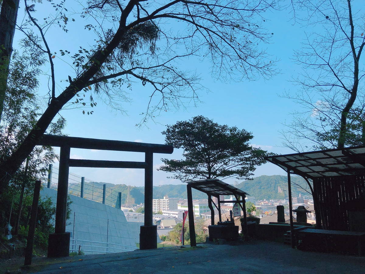鹿児島御朱印巡りブログ伊邇色神社鹿児島市