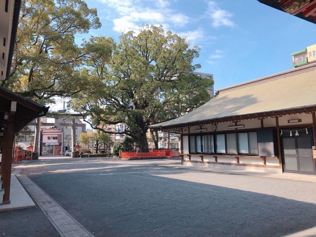 鹿児島御朱印巡りブログ荒田八幡宮鹿児島市