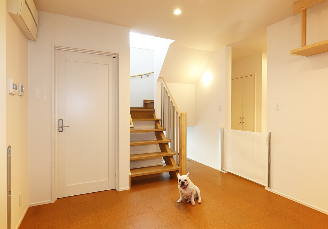 アエラホームの施工事例:犬も快適に暮らせる家