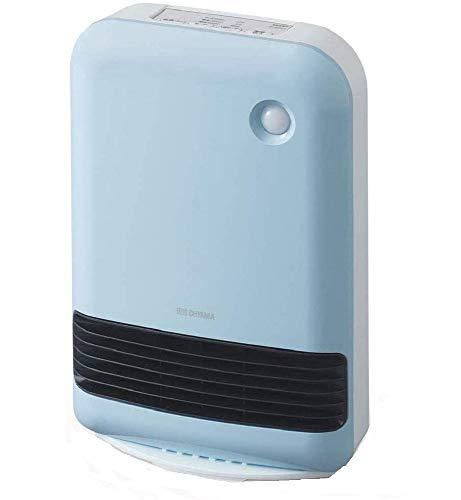 アイリスオーヤマ 人感センサー付き大風量セラミックファンヒーター ブルー JCH-12TD4-A