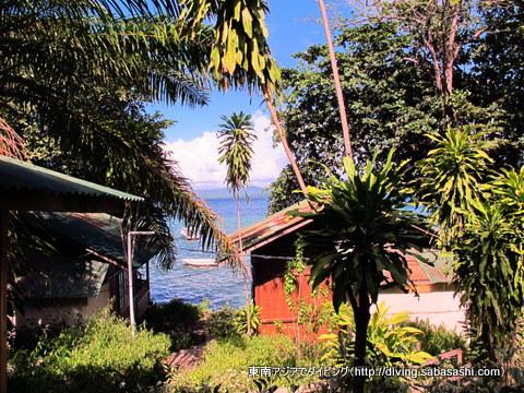 ブナケン島良い天気♪