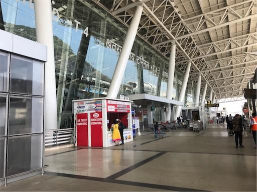 チェンナイ空港国際線ターミナル出発ゲート