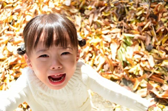 少女が泣いて、こちらに手を伸ばしている。