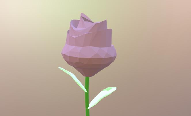 3D 花 簡単に制作