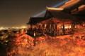 紅葉と舞台 11月26日 清水寺 「京都新聞写真コンテスト」