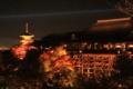 舞台と塔 11月26日 清水寺 「京都新聞写真コンテスト」