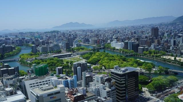広島原爆範囲