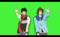 Free!!ED/ポケモン(トウヤとコウキ)
