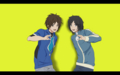 Free!!ED/ポケモン(カルムとキョウヘイ)