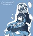 排気ガスサークル/主人公とブルー