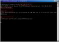 ProFTPd 1.3.3c Backdoor。赤枠がユーザの入力。ぼかし部分のコマンドを入力