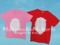 もくりんTシャツ(ピンク&赤)