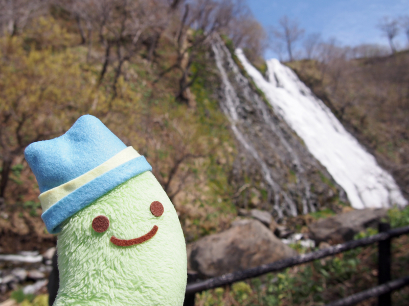 すずしげな滝