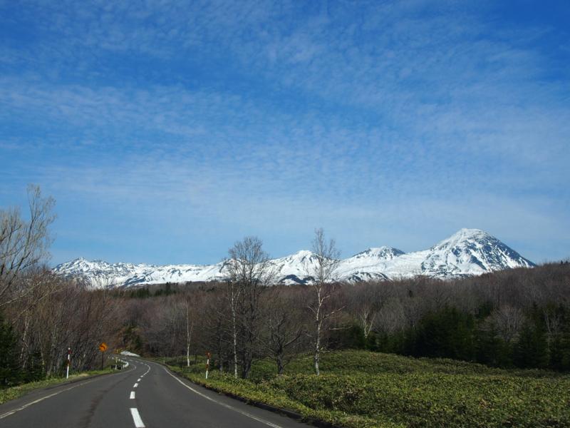 また一歩近づく山脈