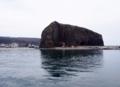 オロンコ岩も近づいてきた