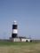 白と黒の灯台