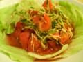 [新潟のおしいいもの]ラーメン一(はじめ)の米粉トマト麺01[ときめきラーメン万代島]