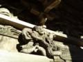 [新潟の神社・仏閣]取上観音の彫刻5(新潟県東蒲原郡阿賀町取上)