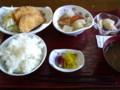 [新潟のおしいいもの]リズム・ハウス瓢湖(阿賀野市)のハムカツ定食500円