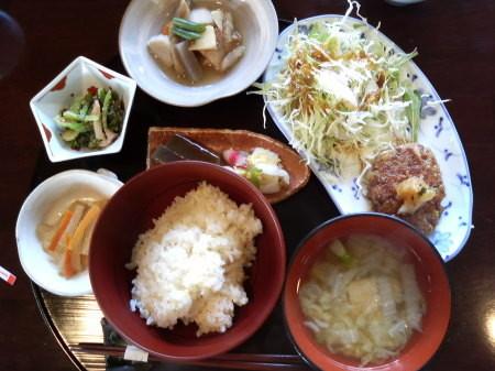 雑穀ランチセット2-キンタ(長岡市寺泊)