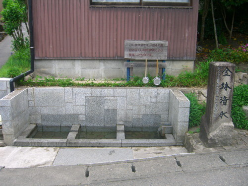 金鉢清水(東蒲原郡阿賀町)-新・新潟県の名水01