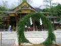 弥彦神社・茅の輪くぐり-20090630-02