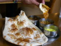 新潟のインド料理店『ナタラジャ』のキーマランチ