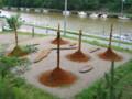 水と土の芸術祭2009-「水」と「土」と(西区・内野山手)02